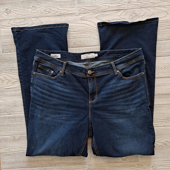 Torrid Women's Luxe Slim Boot Jeans Size 20
